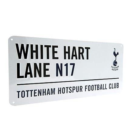 1fa91167f Amazon.com : Tottenham Hotspur FC White Hart Lane Street Sign : Sports Fan Street  Signs : Garden & Outdoor