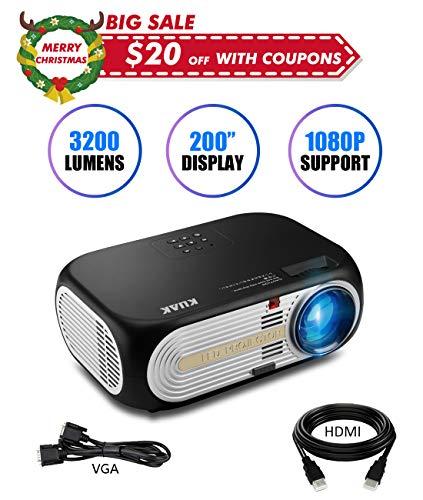 KUAK 3200 Lumens Projector, 5