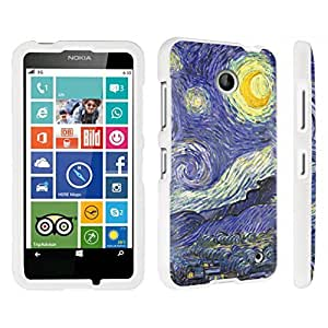 DuroCase ? Nokia Lumia 630 Hard Case White - (Starry Night)