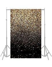 Fotografie Achtergrond Muur, Zwarte En Gouden Achtergrond Gouden Dot Achtergrond Fotografie Props, Zwarte En Gouden Achtergrond Fotografie Achtergrond