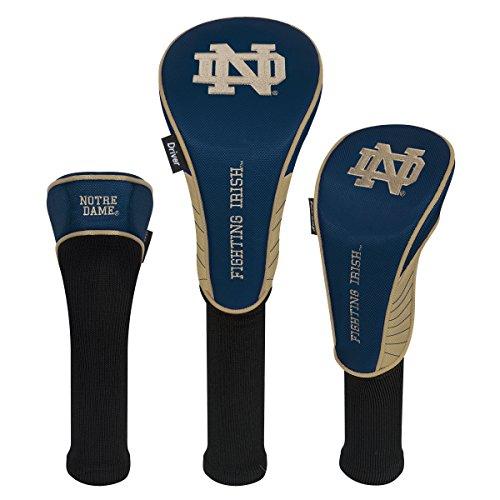 Team Effort Notre Dame Fighting Irish Set of Three Headcovers - Notre Dame Driver Headcovers