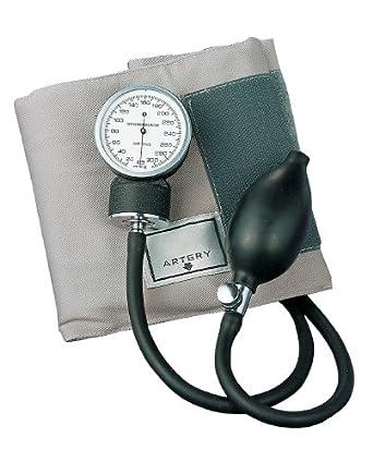 ADC 770-11AG - Esfigmomanómetro aneroide de bolsillo con brazalete de presión arterial para adultos, color gris: Amazon.es: Industria, empresas y ciencia