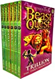 Beast Quest Pack: Series 2, 6 books, RRP £29.94 (Arachnid the King of Spiders, Claw the Giant Monkey, Soltra the Stone Charmer, Trillion the Three-Headed Lion, Vipero the Snake Man, Zepha the Monster Squid). (Beast Quest)