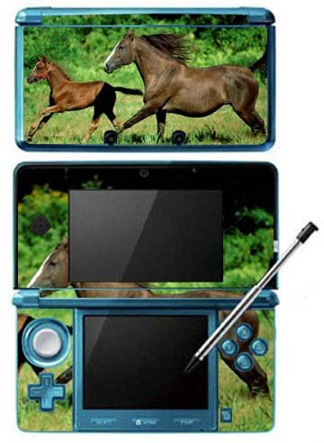 Free Horsez Horses Game Skin for Nintendo 3DS Console