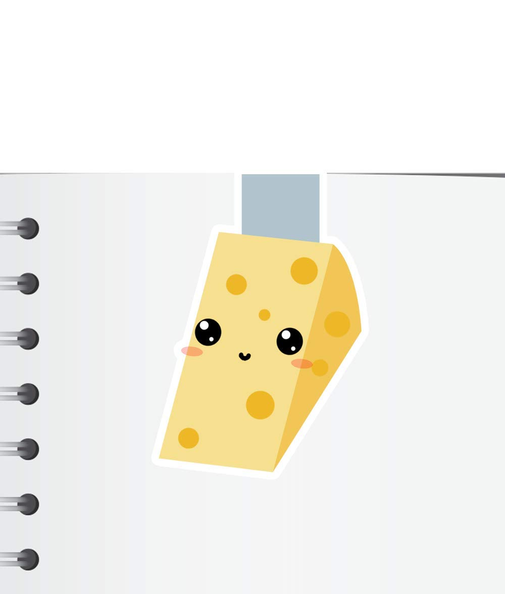 Cheese Magnetic Bookmark