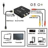RCA to HDMI, GANA 1080P Mini RCA Composite CVBS