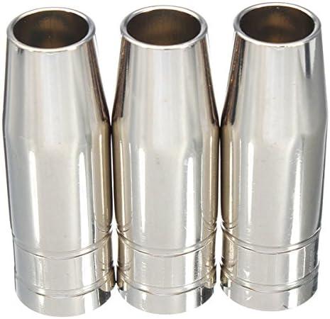 15 Ak Hitommy Juego de 13 boquillas de boquilla para soldar de 0,6 mm 0,8 mm 1 mm