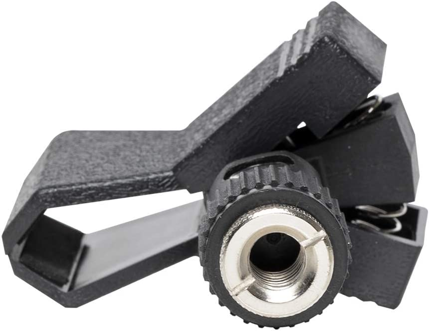 Black Stagg MH-6AH Rubber Microphone Clamp