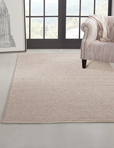 - SI Area Rugs 8053 Pixley Hand Made Area Rug, 8 by 10-Feet, Natural