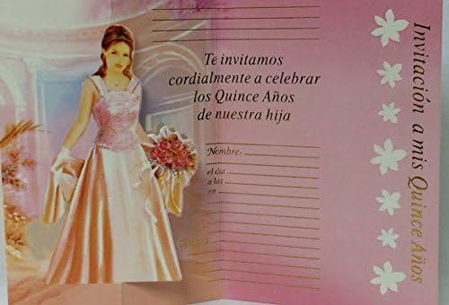 Amazon Com Mis Quince Anos Invitations Sweet 15 Invitations