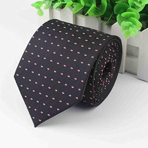 (Graven Mens Business Tie Formal Striped Designer 8cm Jacquard Wedding Necktie Narrow 3.15inch Classic Corbata Neckwear Official Gravata - (Color: 8))
