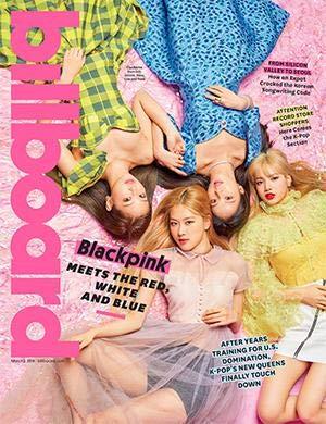 Billboard MagazIne (March 2, 2019) Blackpink Cover (Jennie, Jisoo, Lisa and Rosé)