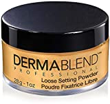 Dermablend Loose Setting Powder, Warm Saffron Face Powder Makeup for...