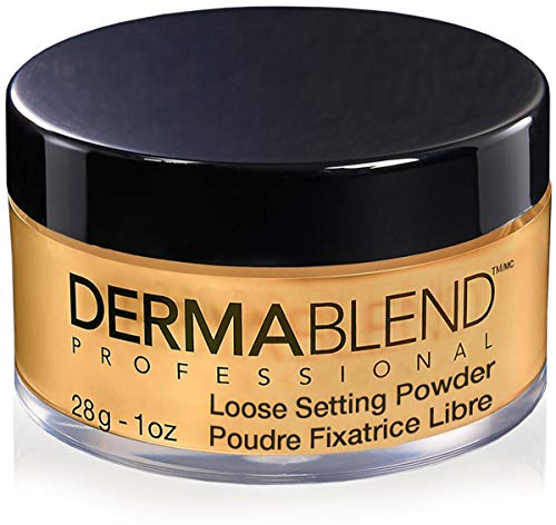(Dermablend Loose Setting Powder, Warm Saffron, 1 Oz.)