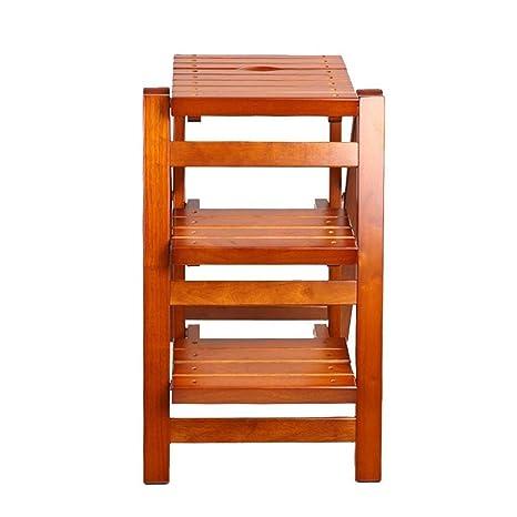 Superb Amazon Com Lxjjdgf Step Stool Wooden Folding Step Ladder Andrewgaddart Wooden Chair Designs For Living Room Andrewgaddartcom