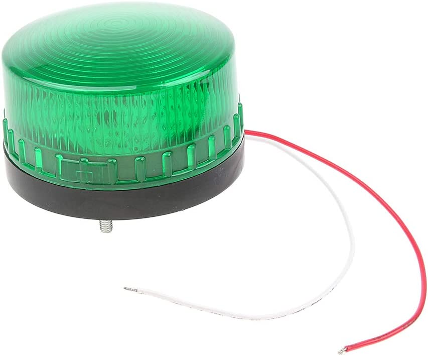 Luz de Advertencia L/ámpara Iluminaci/ón LED a Pruba de Agua para Industria Taller Transporte rojo3