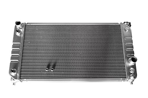 (KKS1826 New 3 Rows All Aluminum Radiator Fit 1996-2005 Chevy S-10 Truck Pickup V6)