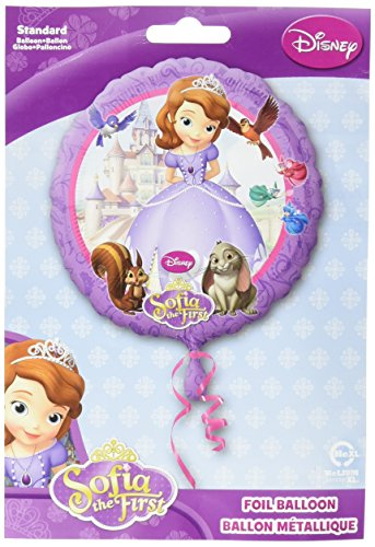 Anagram International HX Sofia The First Party Balloons, Multicolor -