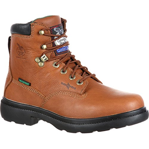 Pictures of Georgia Farm and Ranch Waterproof Boots G6503 Briar Brown 1