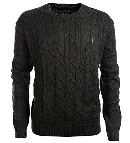 Polo Ralph Lauren is a pinnacle of fashion and design. These cable knit  sweaters are