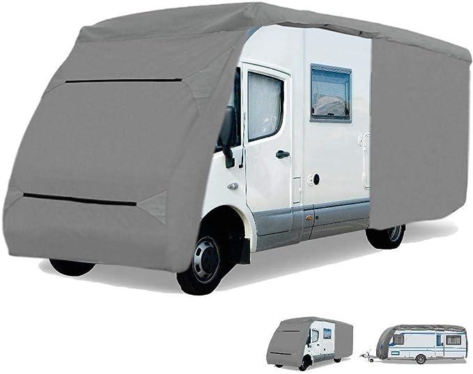 Bestlivings Schutzhülle Für Wohnmobil Caravan Abdeckung In Der Größe Cc 1 Länge X Breite X Höhe 610x235x275 Cm Küche Haushalt