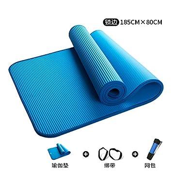 Baibian Estera de Yoga para Principiantes 15 mm ...