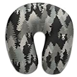 Scorpio Bear Animal Super Soft Travel Pillow Spa U SHAPE For Toddler Car Seat Everybody