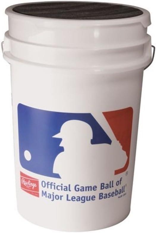 B00005UN1X ROLB1X Practice Baseballs in Bucket (3 Dozen) 51-8hFPOFEL.SL1000_
