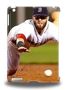 New Super Strong MLB Boston Red Sox Dustin Pedroia #15 Tpu 3D PC Case Cover For Ipad Air ( Custom Picture iPhone 6, iPhone 6 PLUS, iPhone 5, iPhone 5S, iPhone 5C, iPhone 4, iPhone 4S,Galaxy S6,Galaxy S5,Galaxy S4,Galaxy S3,Note 3,iPad Mini-Mini 2,iPad Air )