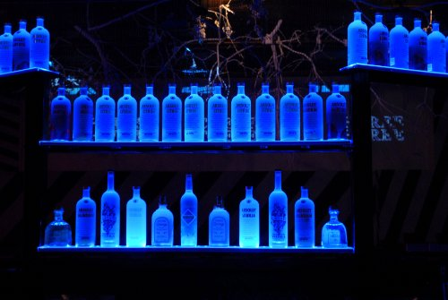 TIKI Bar & Home Bar LED Lighting KIT - Remote Control Light set - #1 BEST Christmas GIFT for home / bar owners - BLUE & all other colors - 16ft - 300 LED lights total (Home Bar Lighting)