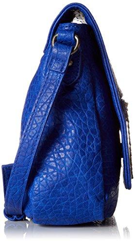 Le Temps des Cerises Damen Angelina 4 Umhängetasche, 8.5x26x27 centimeters Blau (Bleu)