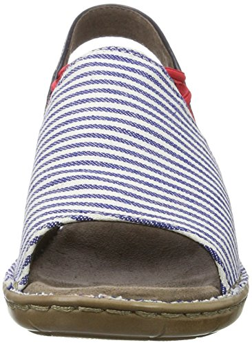 Jenny JennyKorsika-III - Zapatos con Correa de Tobillo Mujer Blau (navy,Blau)