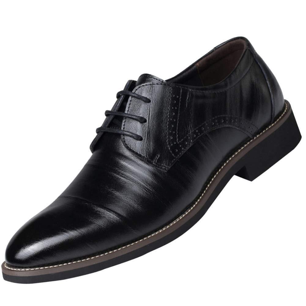 Oudan Herren Derby Schuhe Schuhe Atmungsaktiv Und Bequem Business Casual Schuhe Schuhe (Farbe   1, Größe   42EU) ef8a2c