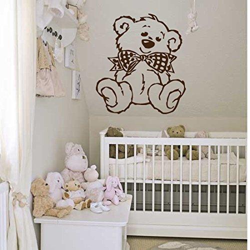 edroom Teddy Bear Cartoon Cute Kids Girls Boys Teenager Room 640b (Teddy Bear Wall)