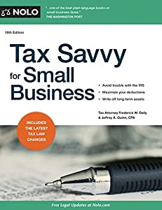 Tax Savvy for Small Business by NOLO