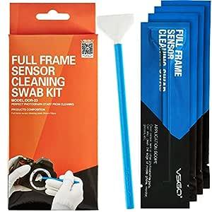 VSGO Limpiador Limpieza Sensor Swab Kit CMOS CCD para sensor de ...