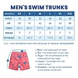 MaaMgic Mens Quick Dry Anchor Swim Trunks with Mesh