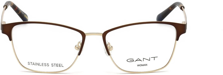 GANT Eyeglasses GA4086 049 Matte Dark Brown