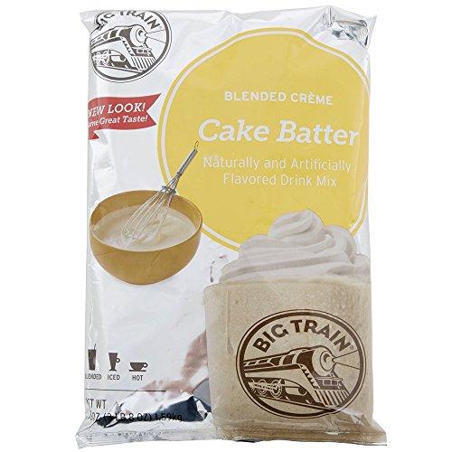 Big Train Cake Batter 3.5 lb bulk (Drink Mix Cake)