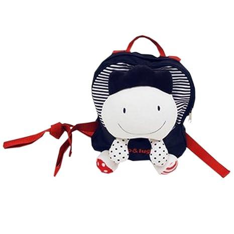 autlet infantil muñeca para decorar Mochila Mochila, negro (Varios colores) - llw/