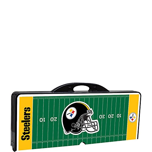 Picnic Time Pittsburgh Steelers Picnic Table Sport from SteelerMania