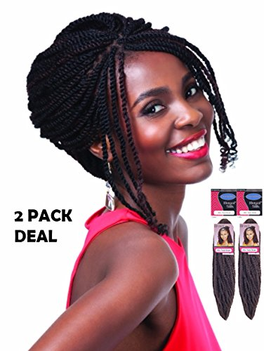 - ROYAL SILK SYNTHETIC HAIR BRAID - AFRO TWIST (30) 2 PACK DEAL