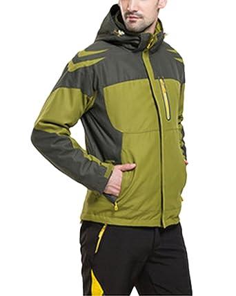 Pareja Hombre Mujer Chaqueta de Esquí Alpinismo Al Aire ...