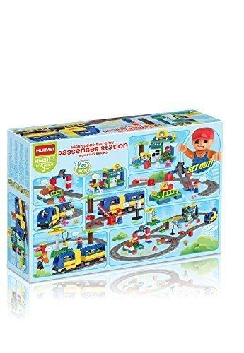 Amazon.com: Learn@Play High Speed Train Station Building block ...