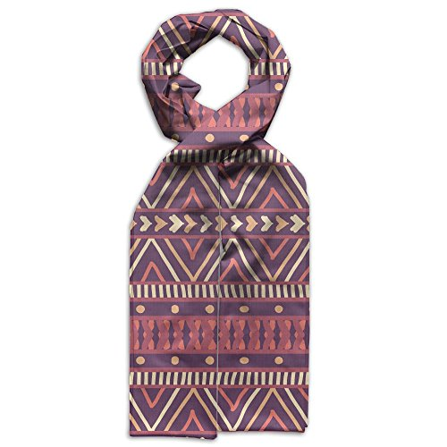 Price comparison product image Boho Aztec Geometrical Texture Gift Evening Printed Children Winter Scarf