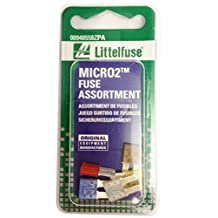 Littelfuse 00940558ZPA MICRO2 32V Fuse Assortment, (Pack of 5)