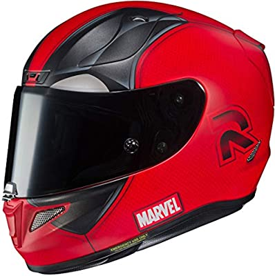 HJC 13347108 Casco de Moto, Deadpool 2 Marvel, Talla M