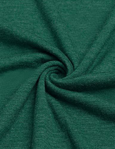 Colore collo Buoydm Autunno Magglietta Bluse V A Lunga Tinta Donna 4 Manica Irregolare Camicia Maglie Sciolto Casuale Camicetta Tunica Unita vpxqvAUw
