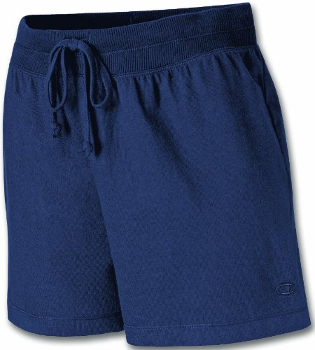 Champion Women's Favorite Short, Navy, X-Large