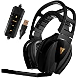 GAMDIAS EROS GHS3610 Elite EQ Gaming Headset with Virtual 7.1 Surround Sound, Cooling Structure and Gold-Plated USB Plug